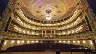 Vibro-Acoustical Measurements in the Semperoper Dresden